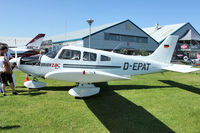 D-EPAT @ EGBK - Exhibited in the static display at 2012 AeroExpo at Sywell
