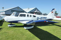 D-ETPV @ EGBK - Exhibited in the static display at 2012 AeroExpo at Sywell