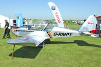 G-RMPY @ EGBK - Exhibited in the static display at 2012 AeroExpo at Sywell