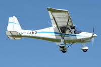 G-TSHO @ EGBK - A visitor to Sywell , on Day 1 of 2012 AeroExpo