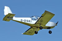 G-DSKI @ EGBK - A visitor to Sywell , on Day 1 of 2012 AeroExpo