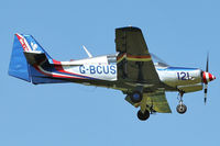 G-BCUS @ EGBK - A visitor to Sywell , on Day 1 of 2012 AeroExpo
