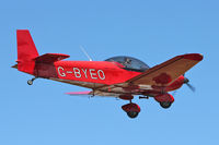 G-BYEO @ EGBK - A visitor to Sywell , on Day 1 of 2012 AeroExpo