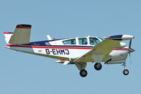 G-EHMJ @ EGBK - A visitor to Sywell , on Day 1 of 2012 AeroExpo