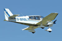 G-BRBL @ EGBK - A visitor to Sywell , on Day 1 of 2012 AeroExpo