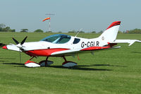 G-CGLR @ EGBK - A visitor to Sywell , on Day 1 of 2012 AeroExpo