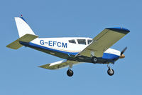 G-EFCM @ EGBK - A visitor to Sywell , on Day 1 of 2012 AeroExpo