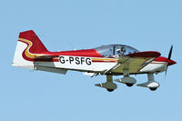 G-PSFG @ EGBK - A visitor to Sywell , on Day 1 of 2012 AeroExpo