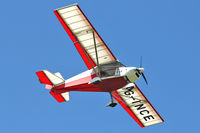 G-INCE @ EGBK - A visitor to Sywell , on Day 1 of 2012 AeroExpo