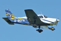 G-BEFA @ EGBK - A visitor to Sywell , on Day 1 of 2012 AeroExpo