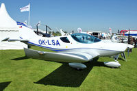 OK-LSA @ EGBK - On Static Display at 2012 AeroExpo at Sywell