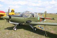 N1004N @ LAL - Swedish Air Force Scottish Series 100