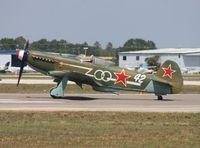 N1157H @ LAL - Yak-9U - by Florida Metal