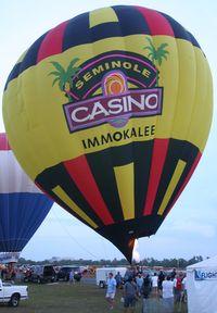 N2241Z @ LAL - Seminole Casino balloon
