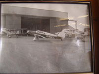 G-AOEJ - Photo found on the hangar wall. Unknown location/date. Destroyed in fatal take off accident at EGDL 3/19/63.
