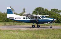 N533DL @ EGSV - Just landed. - by Graham Reeve