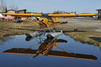 N3761M @ LHD - Piper 12 - reflection