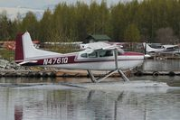 N4761Q @ LHD - Cessna 185