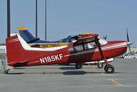 N185KF @ LHD - Cessna 185
