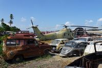 153699 - In storage / scrapyard of Jesada Technik Museum in Nakhon Chaisi / Thailand ............waiting for restoration ?? - by Jean M Braun