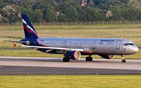 VP-BUM @ EDDL - early morning departure from Düsseldorf - by Friedrich Becker