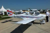 G-TECI @ EGBK - at AeroExpo 2012 - by Chris Hall