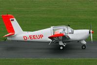 D-EEUP @ EDKB - glider towing version of the Rallye - by Joop de Groot