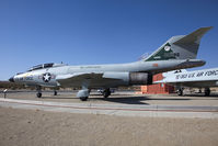 58-0288 @ EDW - On display at Century Circle near the West Gate at Edwards Air Force Base. Painted in the 132nd FS Maine ANG MAINEiacs color scheme. - by Dean Heald