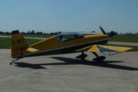 G-MIII @ EGBK - at AeroExpo 2012 - by Chris Hall