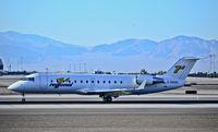 C-GRGD @ KLAS - C-GRGD Regional 1 Canadair CL-600-2B19 Regional Jet CRJ-200ER - cn 7572  - Las Vegas - McCarran International (LAS / KLAS) USA - Nevada, May 31, 2012 Photo: Tomás Del Coro - by Tomás Del Coro