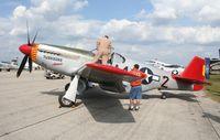 N61429 @ LAL - P-51C Redtail Mustang