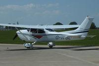 G-TPSL @ EGBK - at AeroExpo 2012 - by Chris Hall
