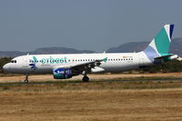 EC-LAJ @ LEPA - Orbest Orizona, Airbus A320-214, CN: 3889 - by Air-Micha