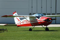 G-ATTR @ EGBK - at AeroExpo 2012 - by Chris Hall