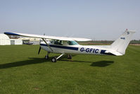 G-GFIC @ X5FB - Cessna 152 Fishburn Airfield, April 2011. - by Malcolm Clarke