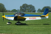 G-CDFL @ EGBK - at AeroExpo 2012 - by Chris Hall