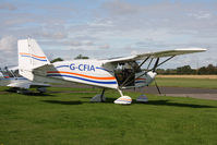 G-CFIA @ EGBR - Skyranger Swift 912S(1), Breighton Airfield, September 2011. - by Malcolm Clarke