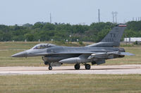 85-1553 @ NFW - 301st Fighter Wing F-16 at NASJRB Fort Worth - by Zane Adams