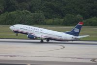 N417US @ TPA - US Airways 737-400