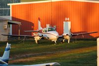N2065C @ KLUK - Evening light - by Kevin Kuhn