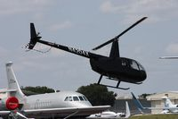 N4204X @ ORL - Robinson R44 - by Florida Metal