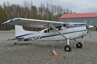 N2154Q @ BGQ - Cessna 185