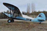 N81M @ BGQ - J & M Aircraft Model 14