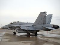 164219 @ GTF - Four of these F/A-18D's and one F/A-18C of VMFAT-101 were parked at GTF - by Jim Hellinger