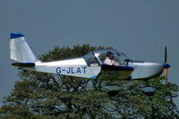 G-JLAT @ EGBK - at AeroExpo 2012 - by Chris Hall