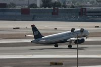 N601AW @ PHX - Taken at Phoenix Sky Harbor Airport, in March 2011 whilst on an Aeroprint Aviation tour - by Steve Staunton