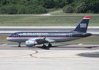 N770UW @ TPA - US Airways A319