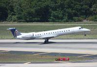N13995 @ TPA - Continental Expressjet E145LR - by Florida Metal