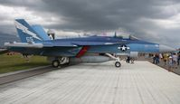 166899 @ LAL - Special 100th Anniversary painted EA-18G