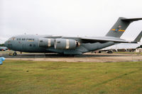 97-0045 @ MHZ - Another view of the C-17A Globemaster from Charleston AFB's 437th Airlift Wing on display at the 2000 RAF Mildenhall Air Fete. - by Peter Nicholson